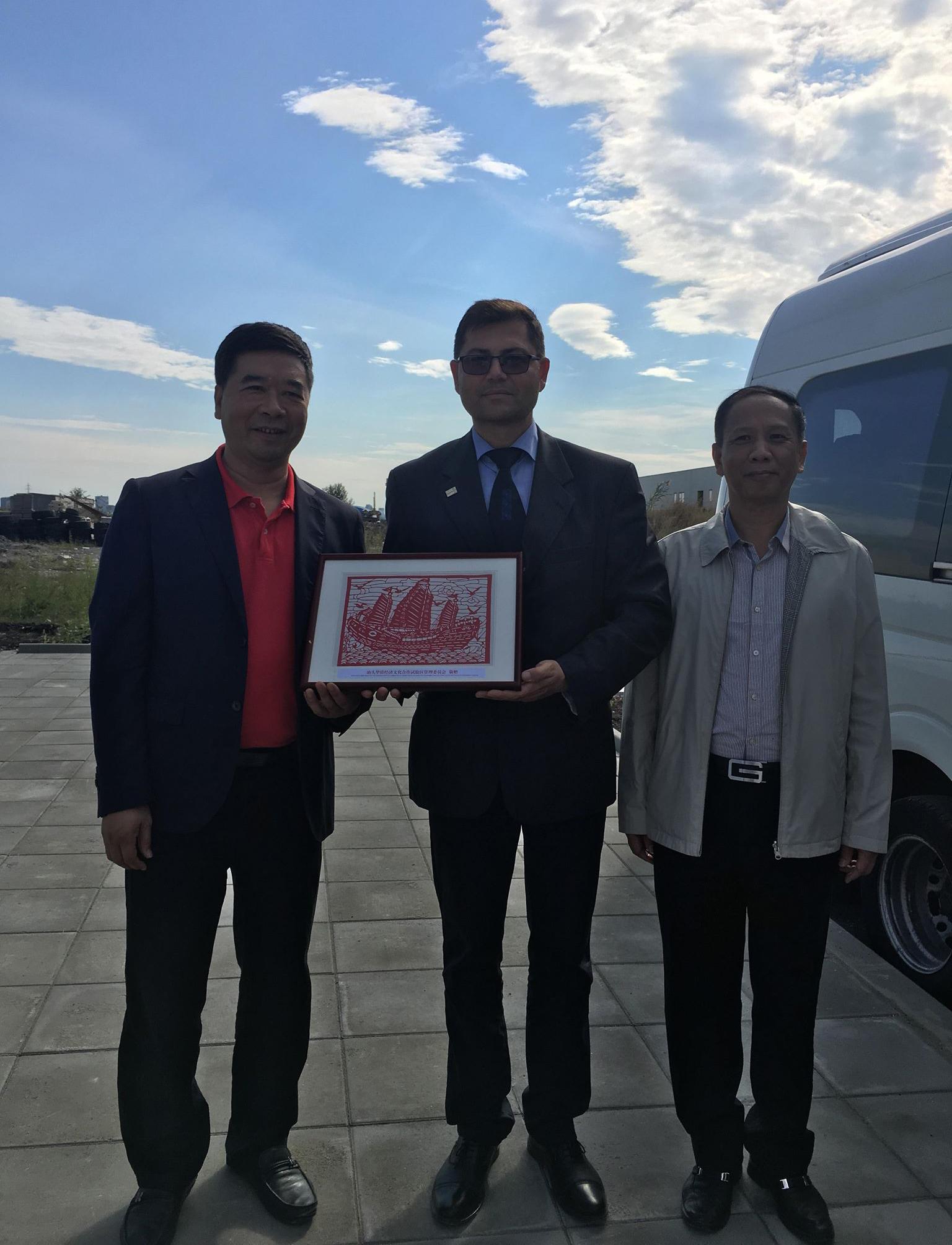Консекутивен превод на делегация от Китайския град Шантоу в Бургас
