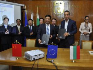 Сътрудничество с Китайския град Шантоу в Бургас
