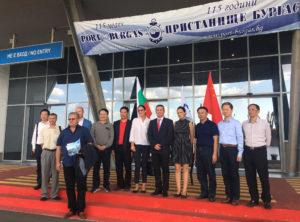 сътрудничество между Бургас и Шантоу в областта на пристанищните и товарни превози, корабоплаването