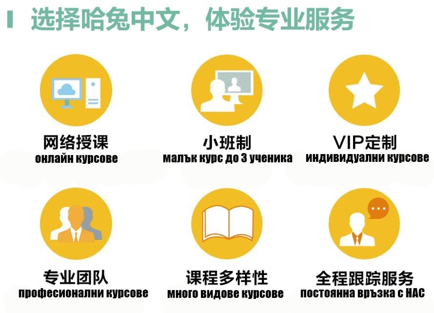 Видове онлайн курсове по китайски език